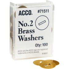 Brass Fastener Wash