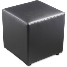 Leather Cube Ottoma