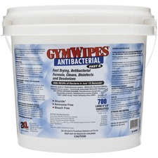 GymWipes Dispensing