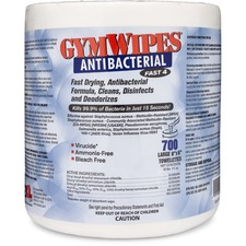 GymWipes Antibacter