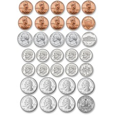 US Coin Money Set D
