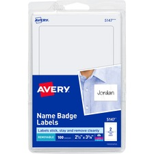 Name Tags, Blank ,